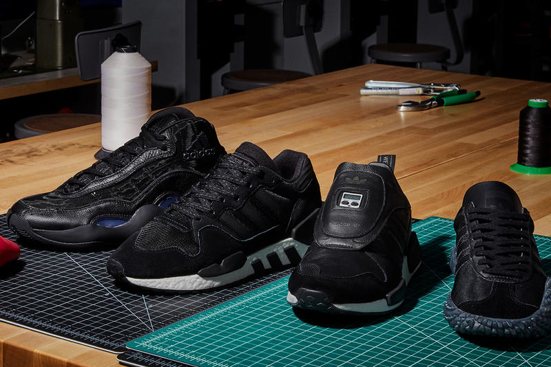 new product 5fcaa 04db7 adidas Originals Triple Black Never Made Pack Release Details I-5923 ZX 4D  Marathon Country