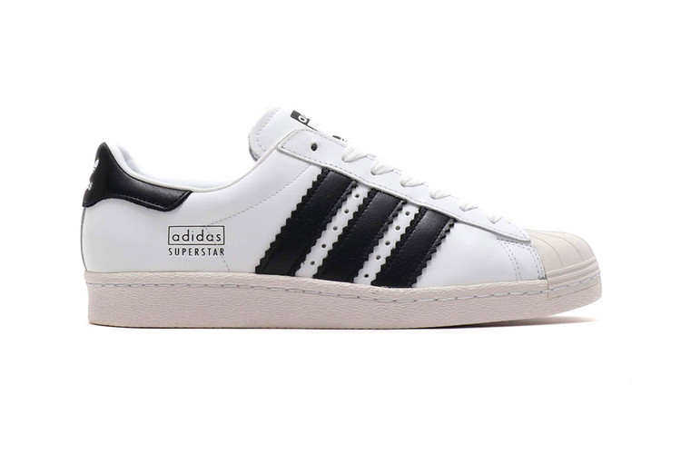 low priced 9fc1f 51def adidas Reinvents Its Superstar 80s With an Enlarged Twist