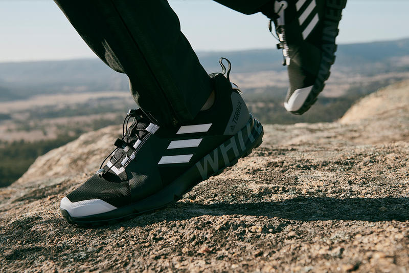 adidas TERREX x White Mountaineering Fall/Winter 2018 Collection FW18 Footwear Cop Purchase Buy Collab Collaboration Collaborations