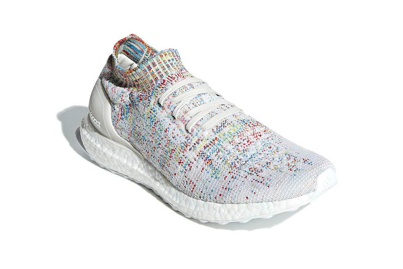 adidas UltraBOOST Uncaged Multicolor colorway release date info price sneaker knit white womens men's size Style Code: B37691 official imagery