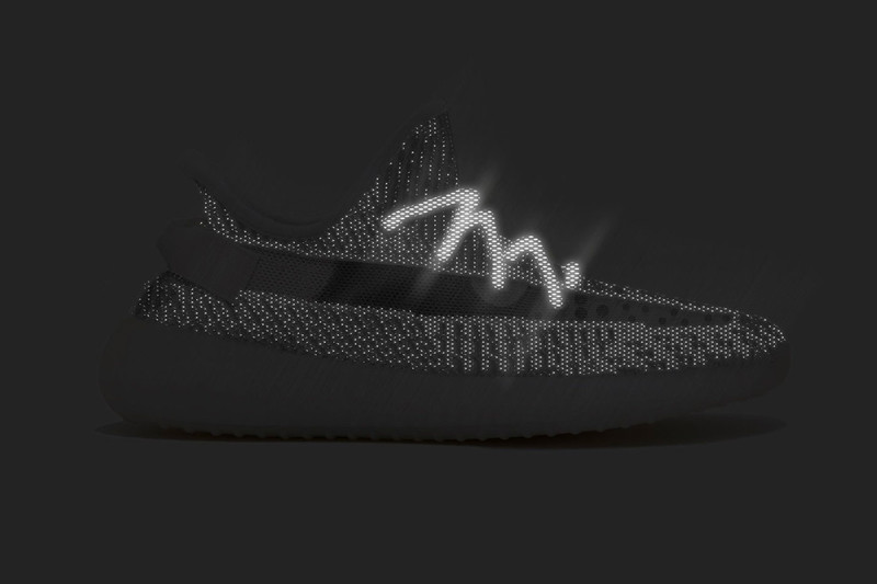 """7b9e221a3c8 The Reflective adidas YEEZY BOOST 350 v2 """"Static"""" Will Be Limited to ..."""