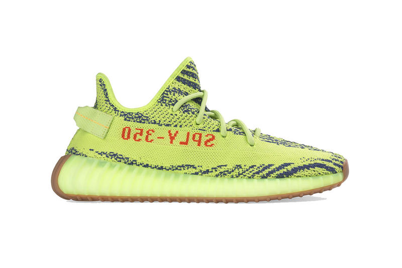 b1cff5fc adidas yeezy boost 350 semi frozen yellow 2018 december store list footwear  kanye west adidas originals