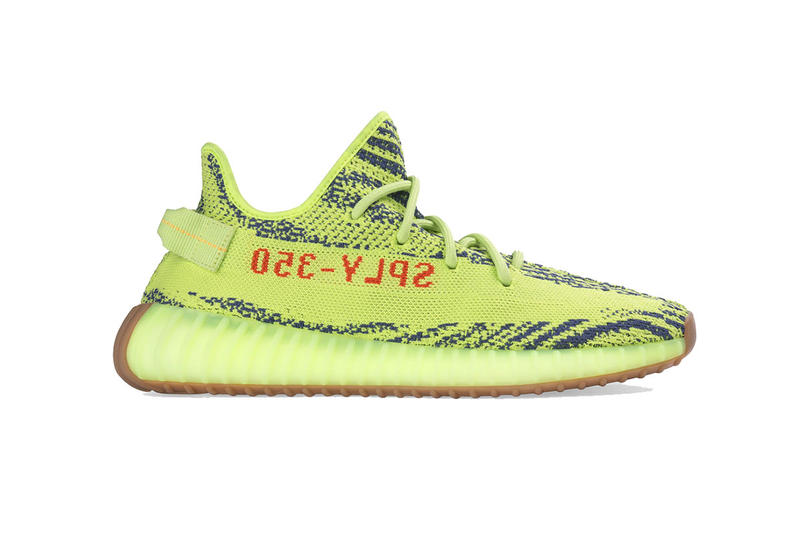 81b35158a6af5 adidas yeezy boost 350 semi frozen yellow 2018 december store list footwear  kanye west adidas originals