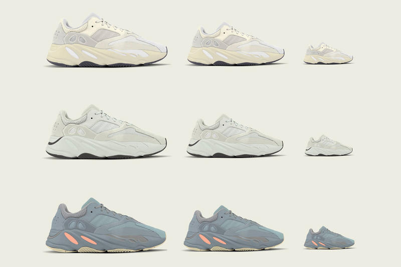 e195b2e268482 adidas YEEZY Boost 700 Kids 2019 Release Kanye West Yeezy Mafia Analog Salt  Intertia