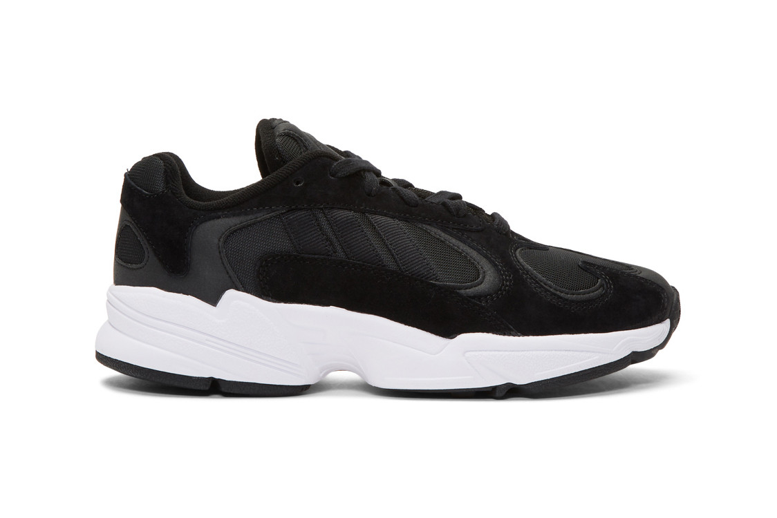 adidas Yung-1 in Black/White Colorway