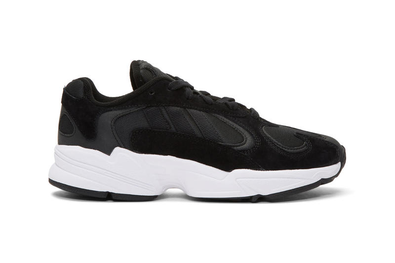8c64acd4f68993 adidas Yung-1 black white originals chunky oversized dad 90s sneaker  footwear trainers cop buy