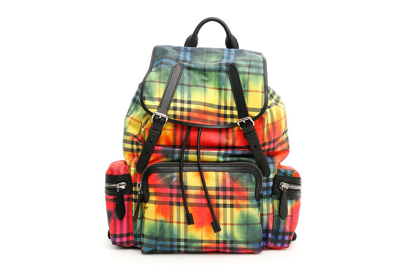 Burberry Rainbow Tie-Dye Backpack Bag Giveaway print color rucksack day strap