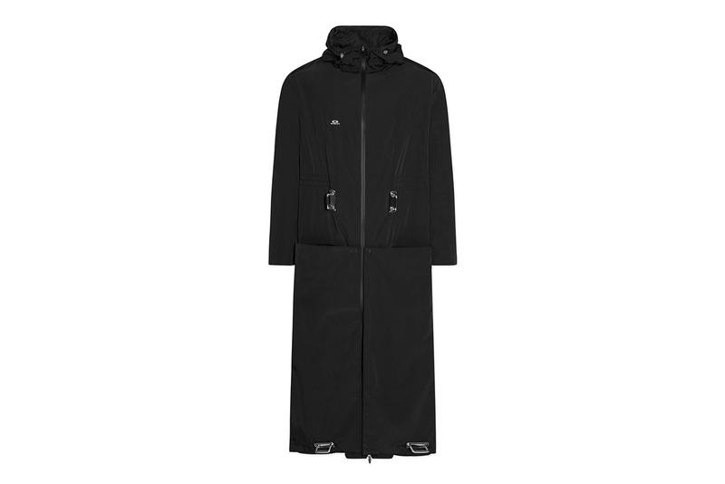 Samuel Ross Oakley Long Hooks Coat Giveaway black transformable collaboration capsule collection