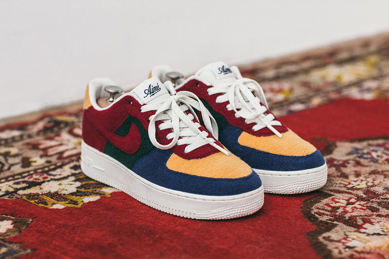 aime leon dore air force 1 bespoke 2018 footwear fall winter