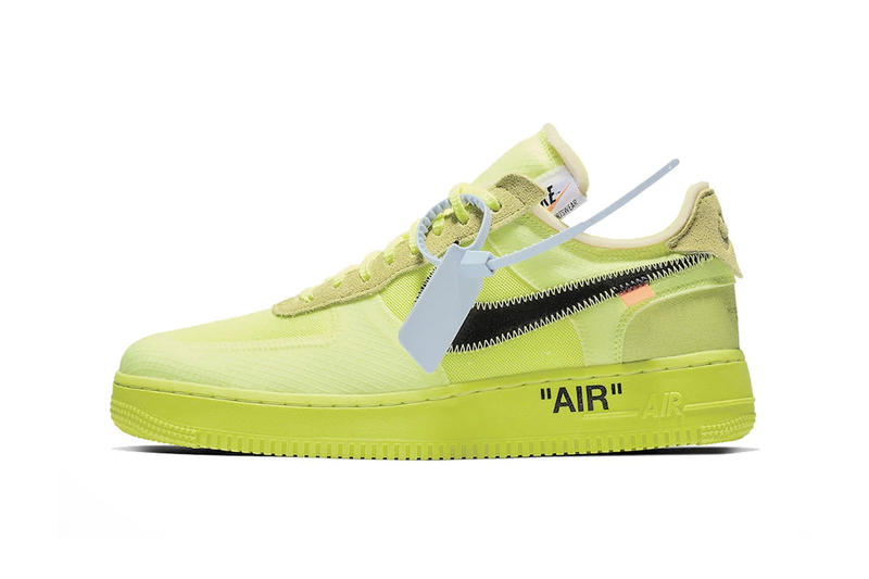 9efe60006924 Air Force 1 Low Off-White in Volt Black on StockX virgil abloh green white