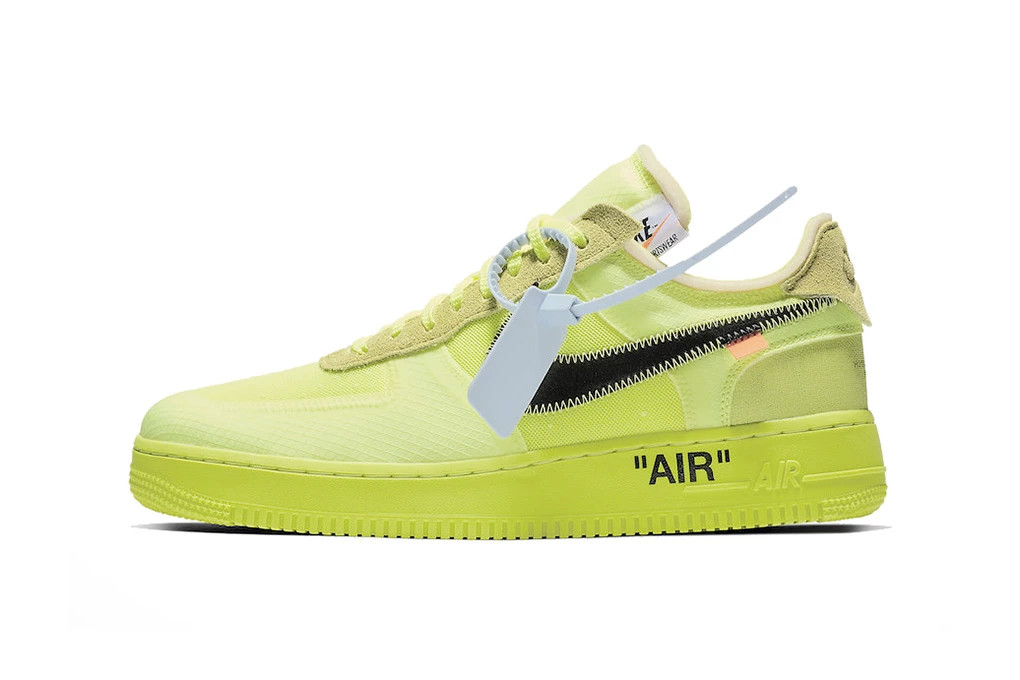 3a14fcfa Off-White x Nike Air Force 1 Volt & Black, StockX | HYPEBEAST