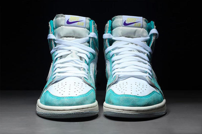 Air Jordan 1 Turbo Green 2019 Release Info kicks footwear oldschool Chicago Nike Air swoosh Michael Jordan bulls 23  555088 311 grey gray sail white purple yellow hi high og retro sail white