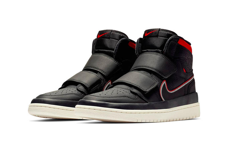 Air Jordan 1 High Double Strap Black Red Release Info Date