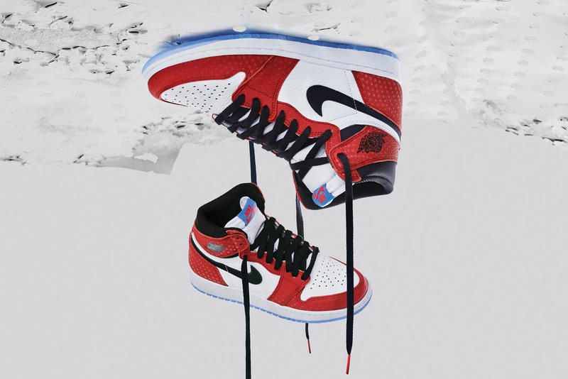 Air Jordan 1 Origin Story Shoe Details Nike Sneakers Shoes Trainers Kicks  Footwear Spider-Man 760fa2be0