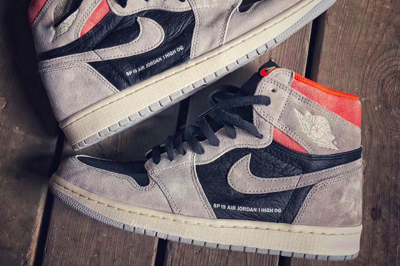 40f5b954b3bc Air Jordan 1 Retro High OG Neutral Grey Detailed Look Release Info Date  January 2019 sneakers