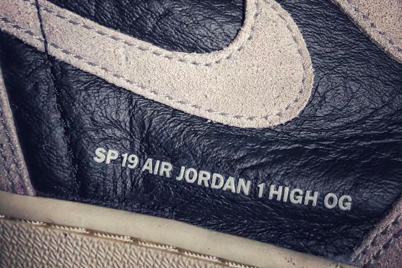 a1b66ea5b16b Air Jordan 1 Retro High OG Neutral Grey Detailed Look Release Info Date  January 2019 sneakers