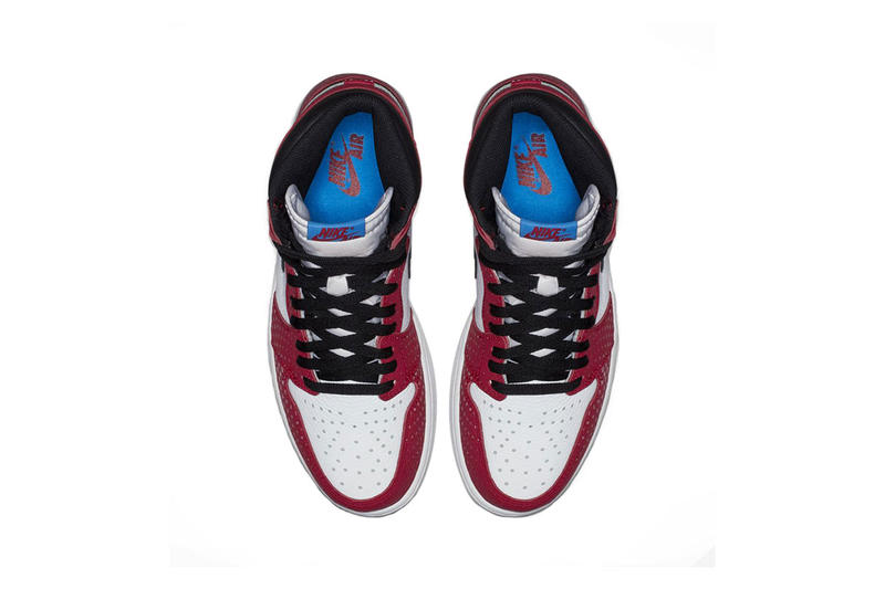 f23943529054ad air jordan 1 retro high og origin story clean look 2018 december spider man  into the