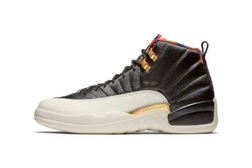 "Here's a Clean Look at the Air Jordan 12 ""Chinese New Year"""