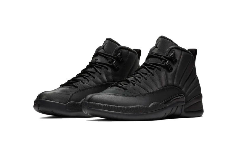 newest 134c4 d9c2a Air Jordan 12 Winterized Black/Anthracite Release | HYPEBEAST