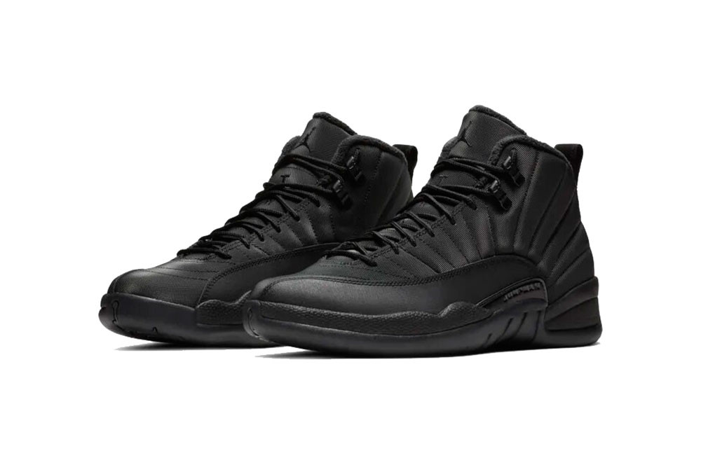 newest bfc63 6256e Air Jordan 12 Winterized Black/Anthracite Release | HYPEBEAST
