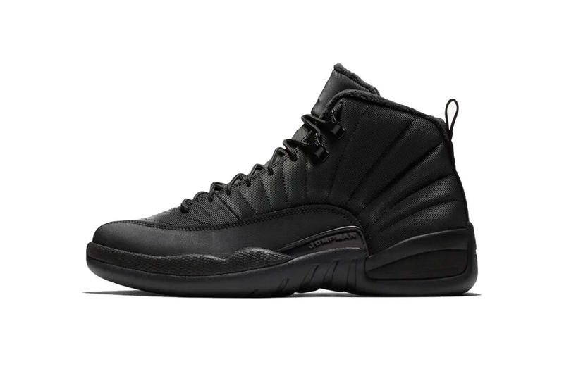 air jordan 12 winterized black anthracite release date 2018 december footwear