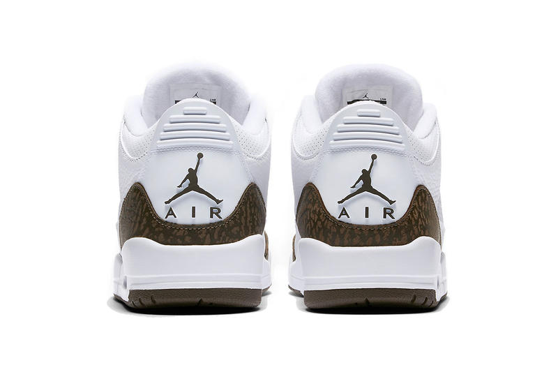 air jordan 3 mocha white 2018 december release date footwear