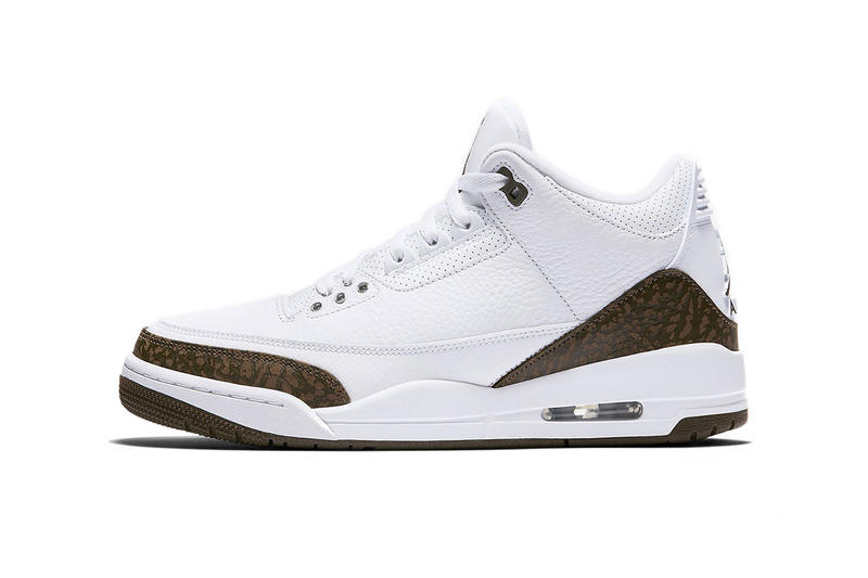 "99105e4cb46b Air Jordan 3 ""Mocha"" 2018 on StockX sneakers nike basketball brown white  elephant print"