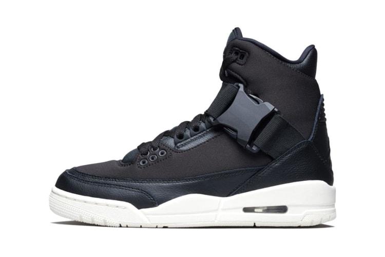 """6aa3e5118743 Air Jordan 3 """"Black Cement"""" Has Just Restocked"""