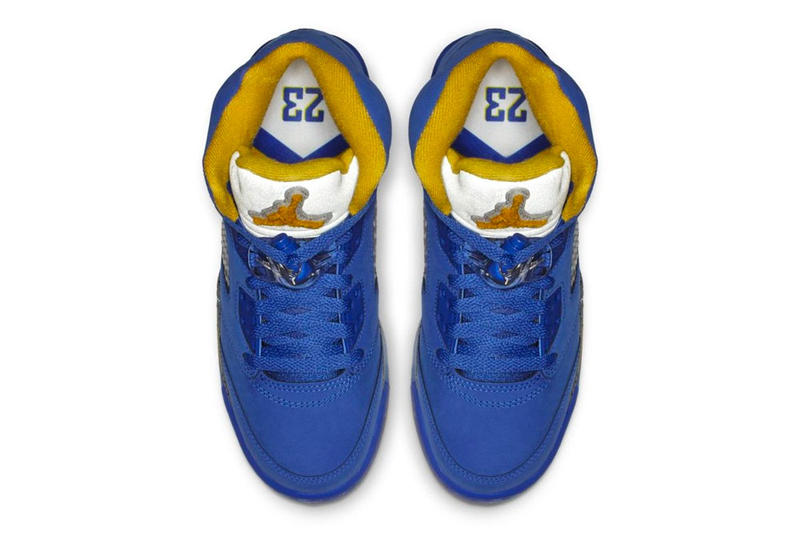"Air Jordan 5 JSP ""Laney"" Release Date yellow blue white sneaker january 2019"
