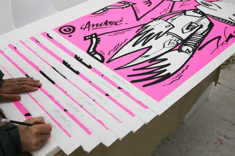 andre saraiva futura chez nous exhibition recap artworks art paintings
