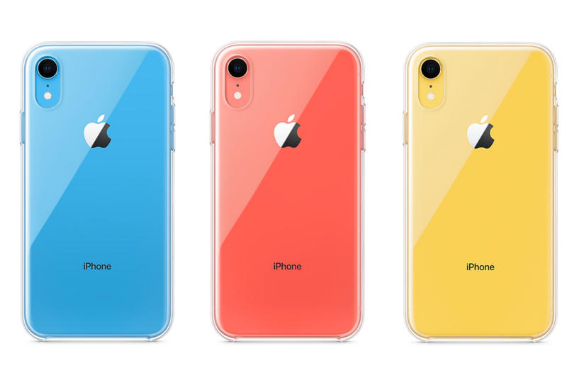 Apple iPhone XR Clear Case Official wireless Qi charging