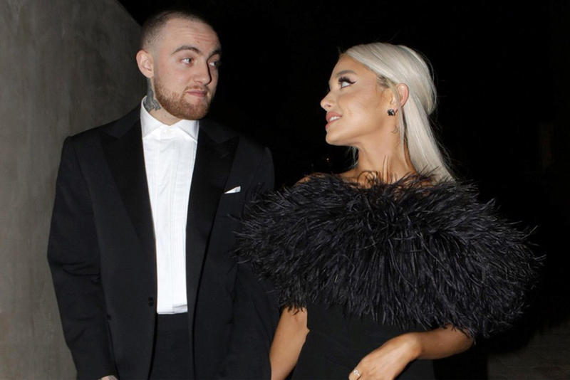 Ariana Grande Quickly Removes Mac Miller Tribute on Instagram instagram post swimming pete davidson