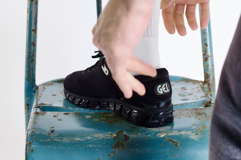 Harmony x ASICS Gel Quantum 360 Sneaker Details Shoes Trainers Kicks Sneakers Footwear Cop Purchase Buy Paris Release Date December 8 2018 David Obadia