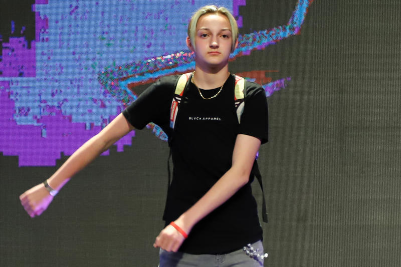 """b69b693de1c5 Over his popularized """"Flossing"""" dance. Backpack Kid Sues Epic Games Fortnite"""