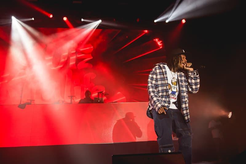 BAPE Heads Show 25th Anniversary Lil Yachty Kid Cudi Wiz Khalifa Big Sean Pusha-T tokyo sneakers fashion music streetwear camo ape head 90s vintage throwback retro style hip-hop