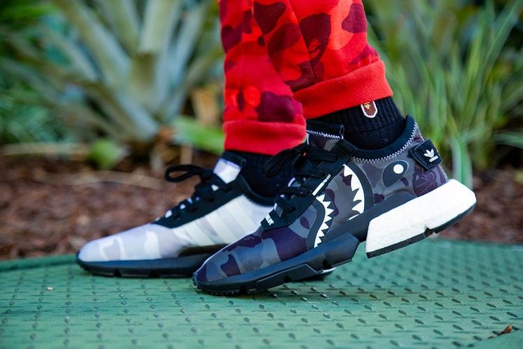 d744e4db44cd5 An On-Foot Look at the BAPE x NEIGHBORHOOD x adidas POD-S3.