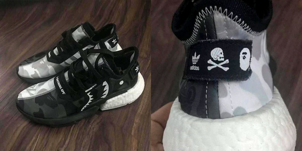 49d1e90e227b2 BAPE x NEIGHBORHOOD x adidas POD-S3.1 First Look
