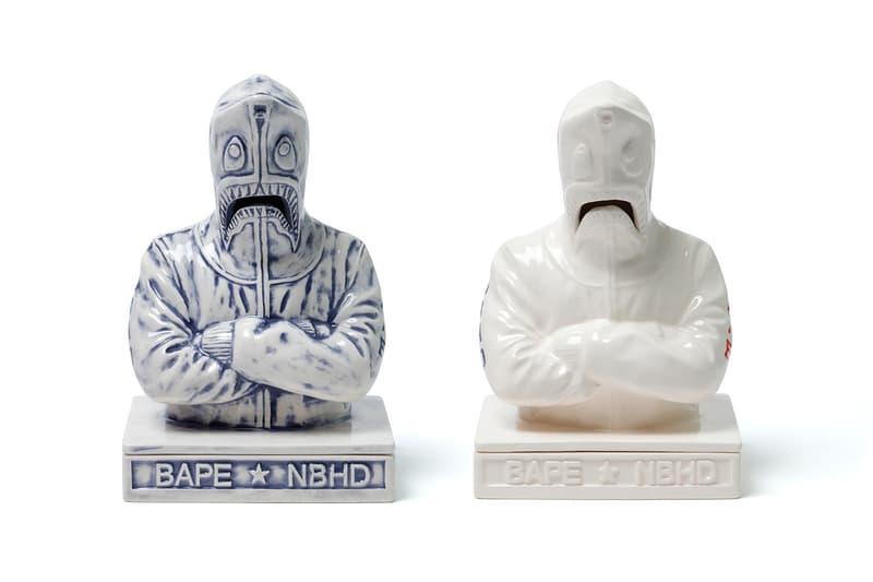 BAPE x NEIGHBORHOOD HOODS Hong Kong Anniversary Capsule a bathing ape exclusive