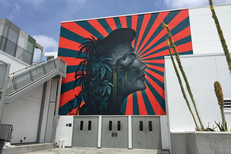 beau stanton censored koreatown mural artwork ava gardner portrait public art artist