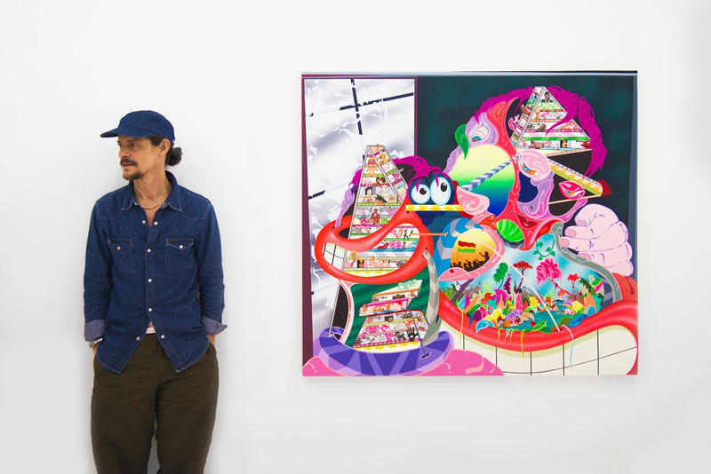takashi murakami virgil abloh gagosian america too andre saraiva futura studio arhoj pichiavo lars netopil leica museum artworks best art drops
