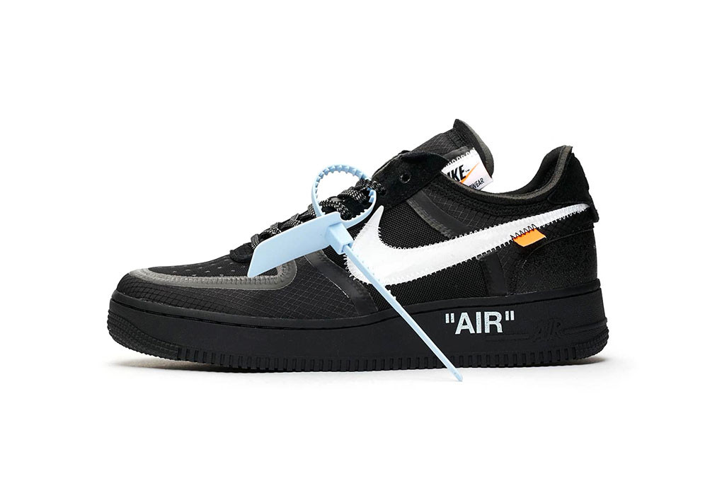 "5010774ec3f1 Off-White™ x Nike Air Force 1 Low ""Black""   ""Volt"""