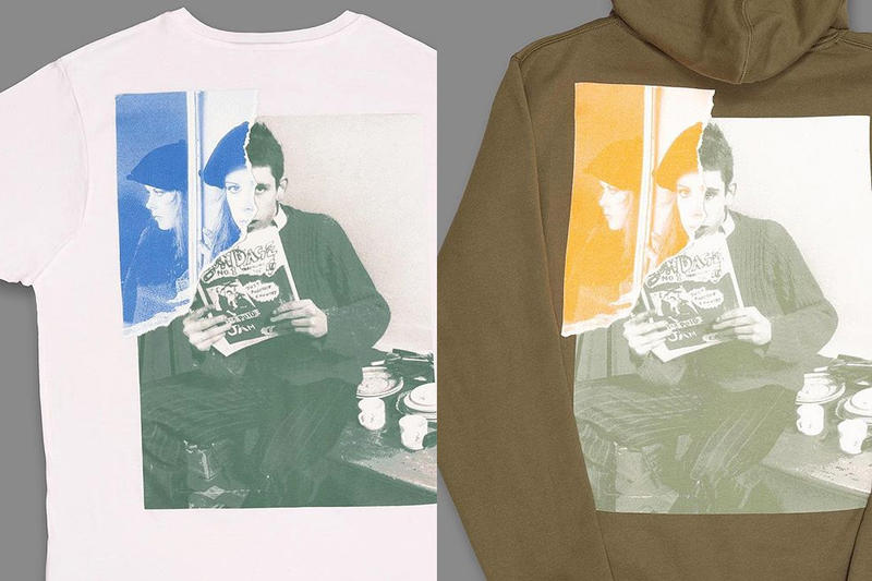 """Blondey McCoy """"Fairytale"""" graphic T-Shirt & Hoodie release date price info black white olive green purchase online shane macgowan kirsty maccoll"""
