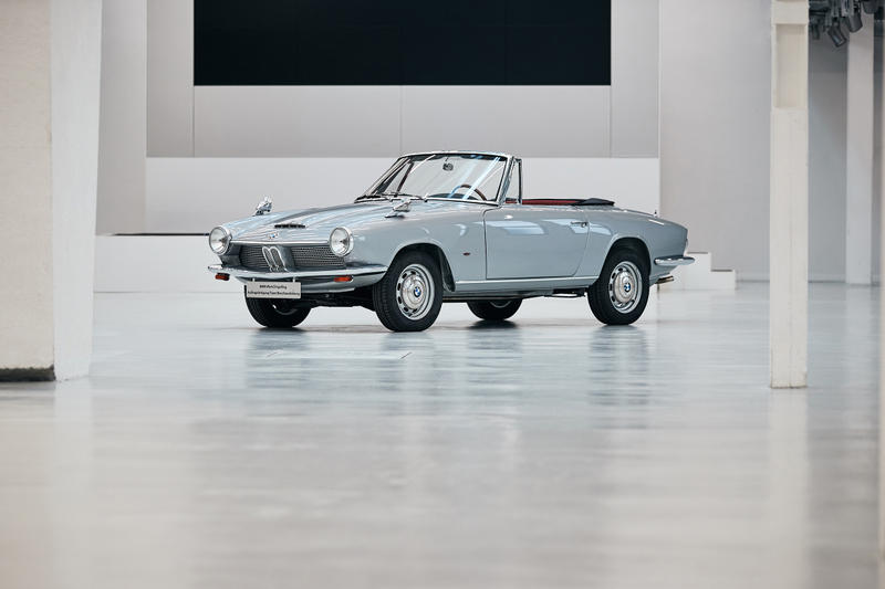 BMW Resurrects the Only Remaining 1600 GT Convertible