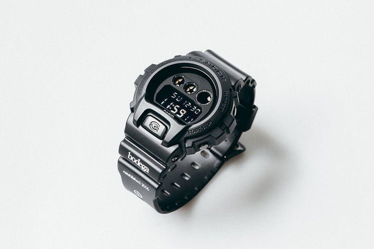 a8160c8e984 Bodega Gives the G-SHOCK DW-6900 a Muted Matte Black Makeover