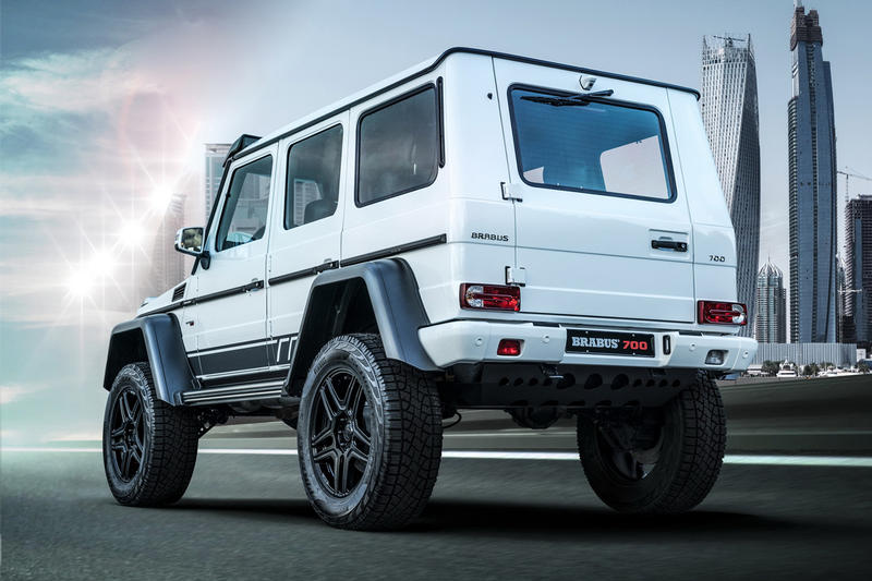 Brabus 700 4x4² Final Edition Info supercar Tuning racing speed off-road luxury horsepower engineering performance