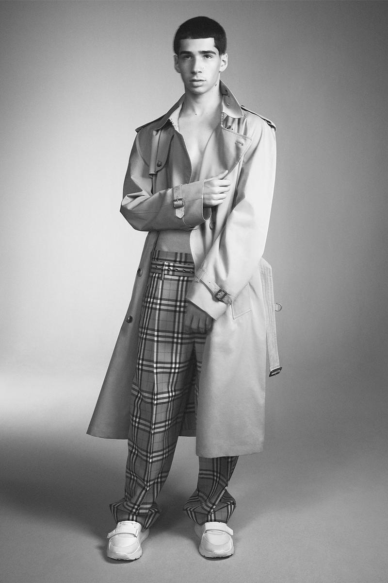 Vivienne Westwood Burberry Riccardo Tisci Full Collection Lookbook David Sims Kate Moss Archive Check