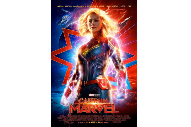 'Captain Marvel' Trailer 2 poster marvel cinematic universe avengers 4