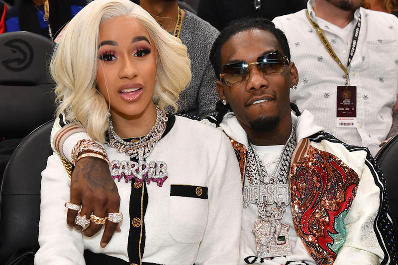 Cardi B Addresses Offset Split instagram stories live kulture migos