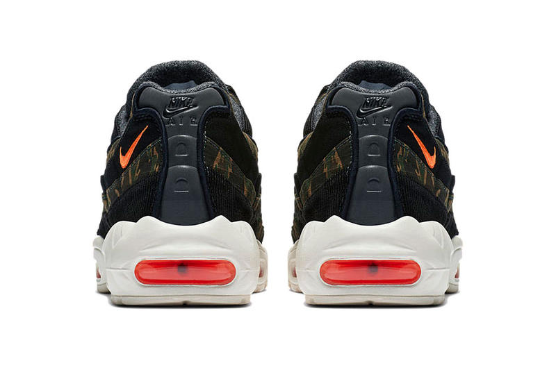 Carhartt WIP Nike Air Max 95 Official Imagery release date drop info camouflage tiger ripstop colorway release info 3m insole