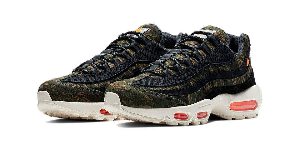 cheap for discount f51ab e8663 Carhartt WIP x Nike Air Max 95 Official Imagery   HYPEBEAST